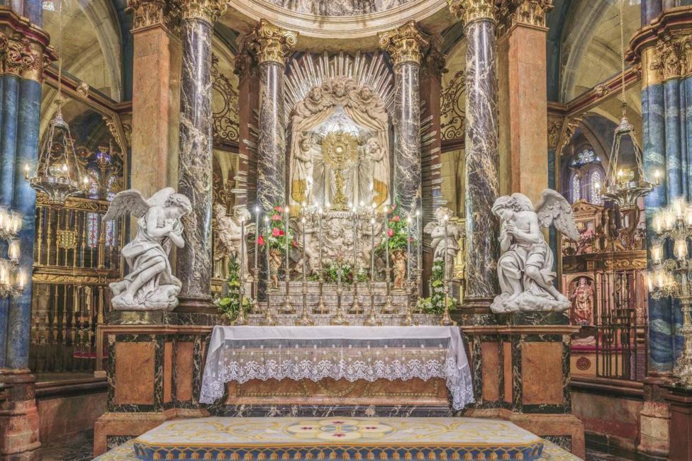 Altar Mayor de la Catedral de Lugo