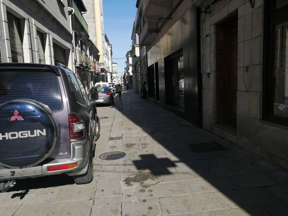 Calle Galicia de Xinzo de Limia