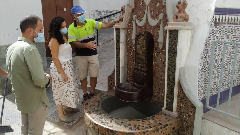 El grifo de la coja en Almuñécar se hará de nuevo con un diseño apropiado a recordar su pasado