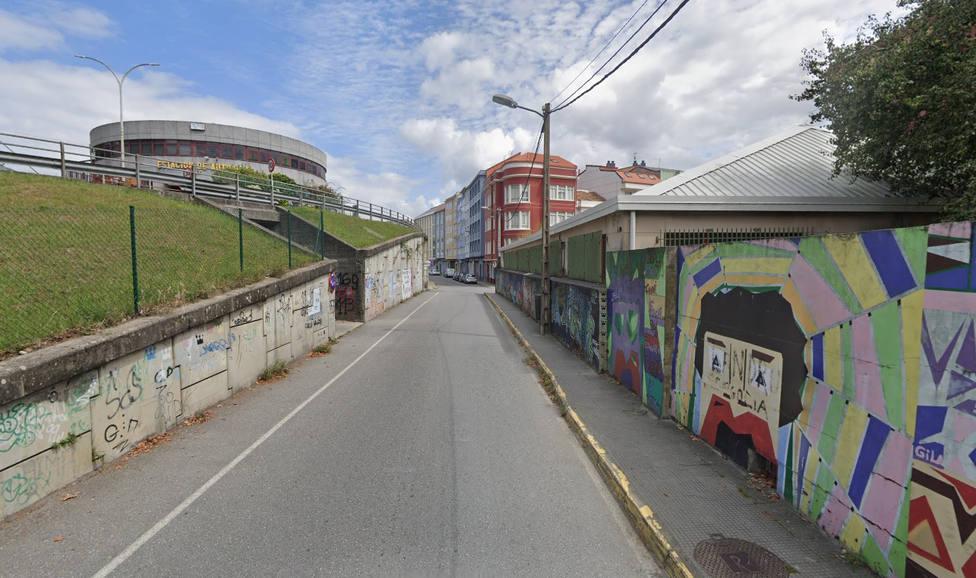 La agresión se produjo en la calle Instituto de Ferrol