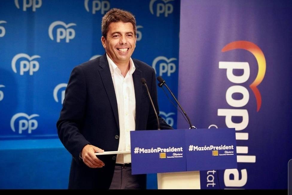Mazón acusa a Puig de inventarse falsos debates para tapar los problemas de la Comunitat Valenciana