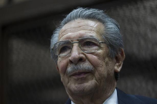 Fallece el general Ríos Montt, juzgado por genocidio en Guatemala