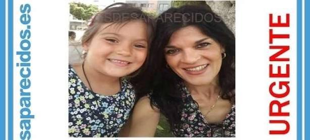Madre y niña desaparecidas