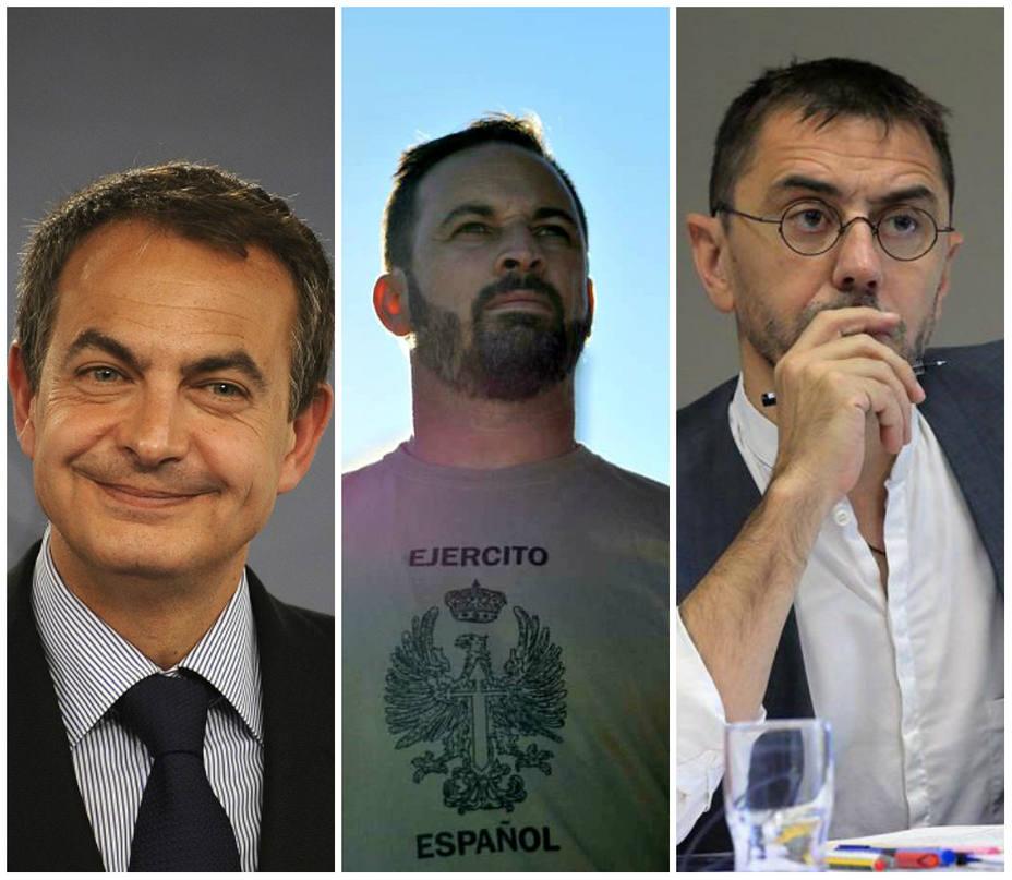 comprar online bf84a 4bb14 Las polémicas palabras de Zapatero sobre Vox ante Monedero ...