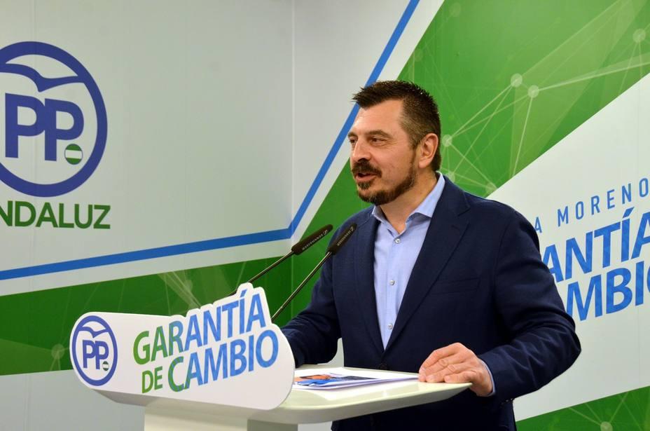 PP-A afea el silencio sonrojante del PSOE-A fruto de un pacto oculto de no agresión entre Sánchez y Díaz