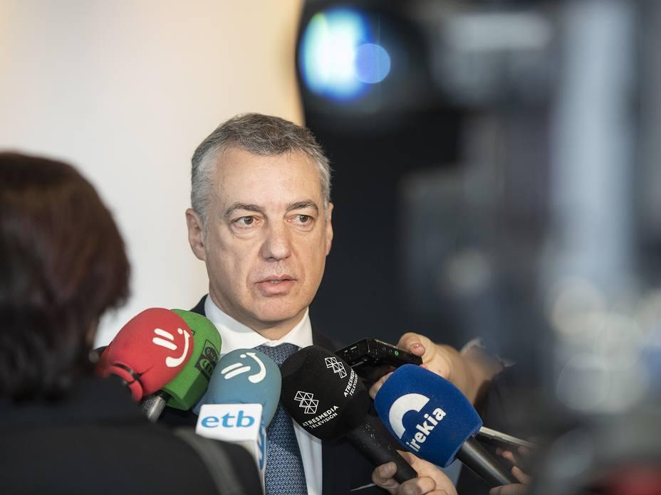 Urkullu insta a propiciar un nuevo escenario de distensión para restablecer puentes de diálogo