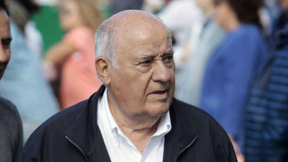 Amancio Ortega (imagen: EFE)