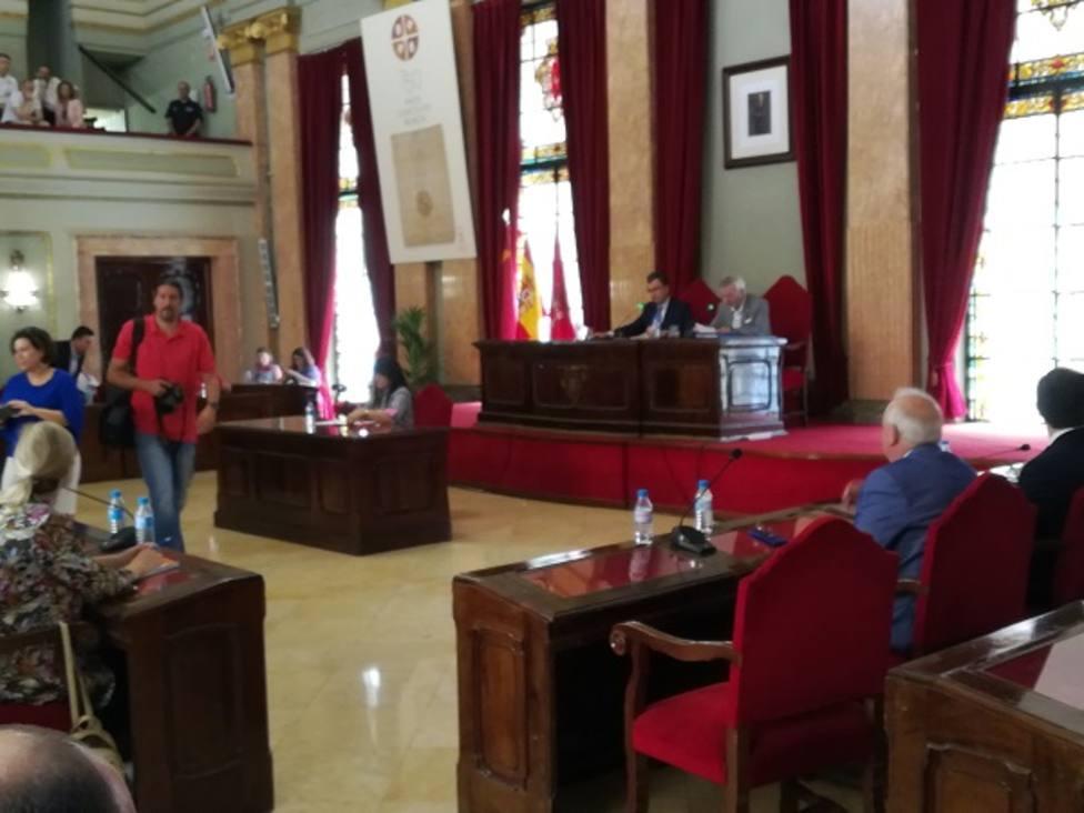 Celebrado el último pleno del Ayuntamiento de Murcia