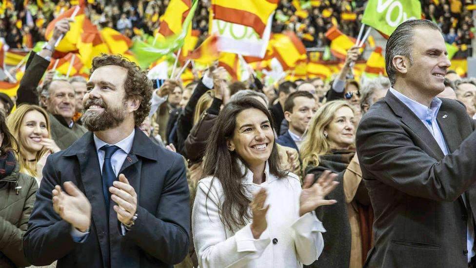 Representantes madrileños de Vox: Solo queremos que se tenga en cuenta a a nuestro electorado