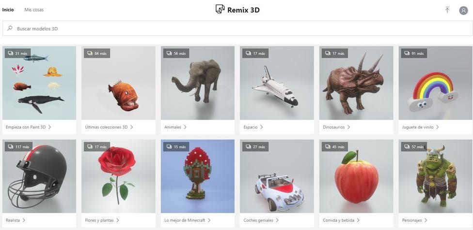 Microsoft retirará su web para compartir contenido 3D, Remix 3D, el 10 de enero de 2020