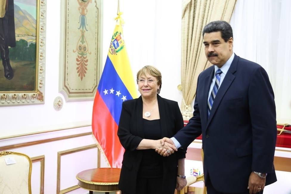 Bachelet advierte de que las sanciones de EEUU contra Venezuela podrían empeorar la crisis en el país