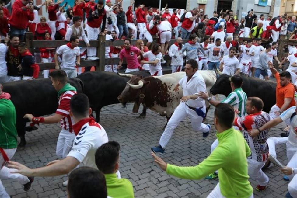 Encierro por las calles de San Sebastián de los Reyes (Madrid)