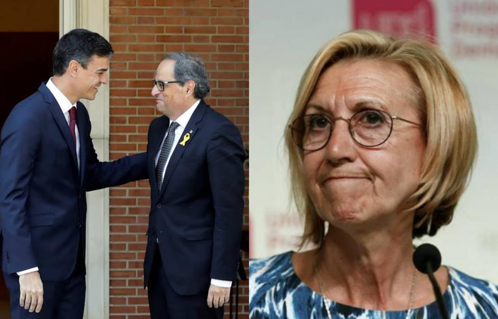 Los peligros de Pedro Sánchez de los que ha advertido Rosa Díez tras los actos de la Diada