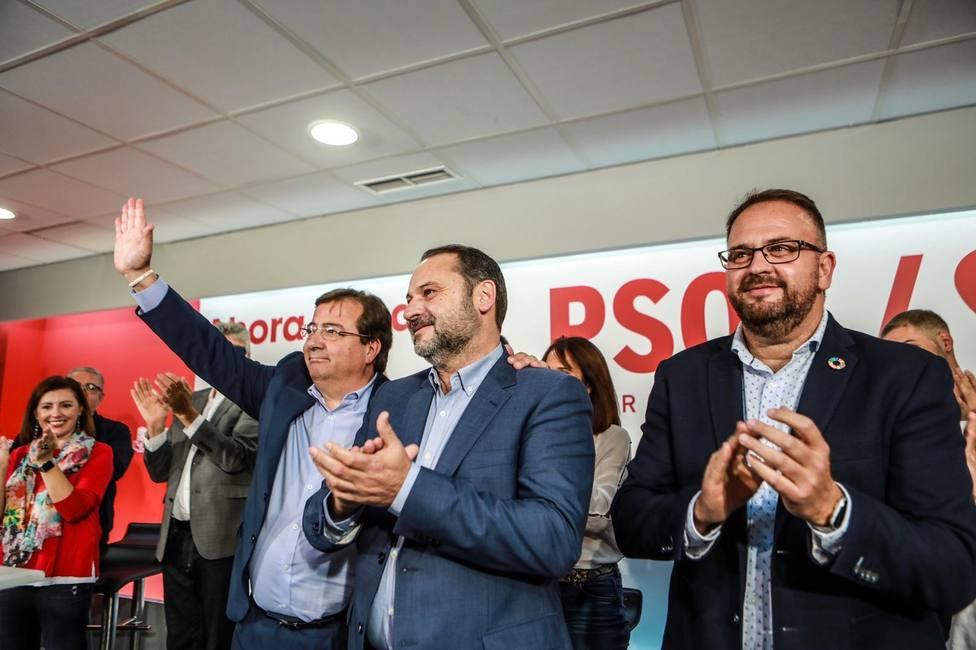 Ábalos asegura que el Gobierno de Sánchez ha invertido 660 millones en el tren extremeño, más que los seis años del PP