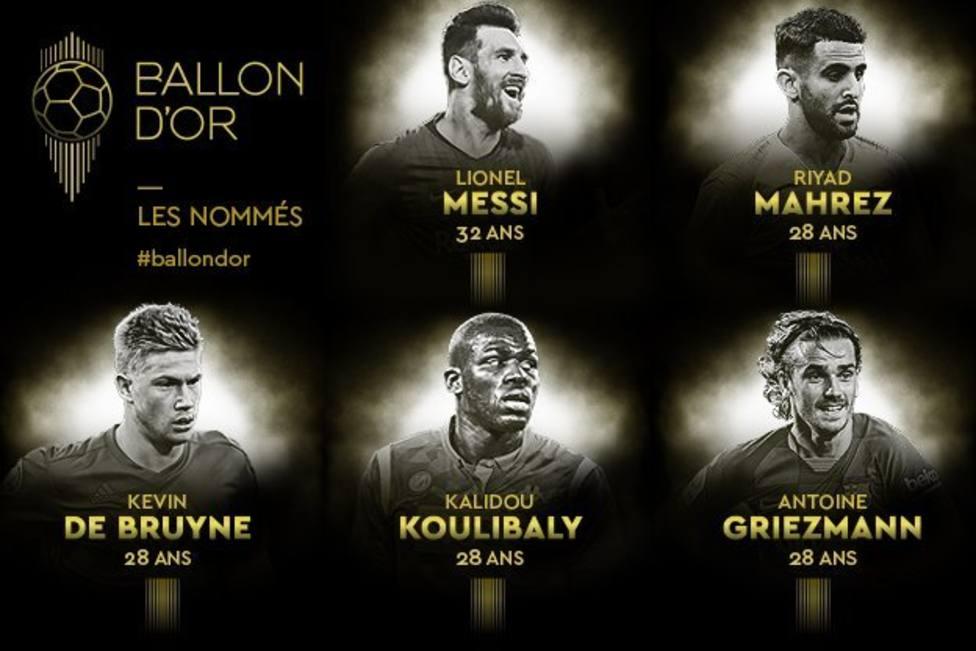 El Liverpool lidera unas candidaturas al Balón de Oro sin españoles
