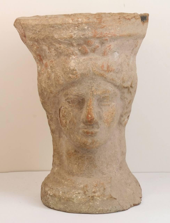 El Museo Arqueológico expone un pebetero ibérico datado entre los siglos IV y III a.C.