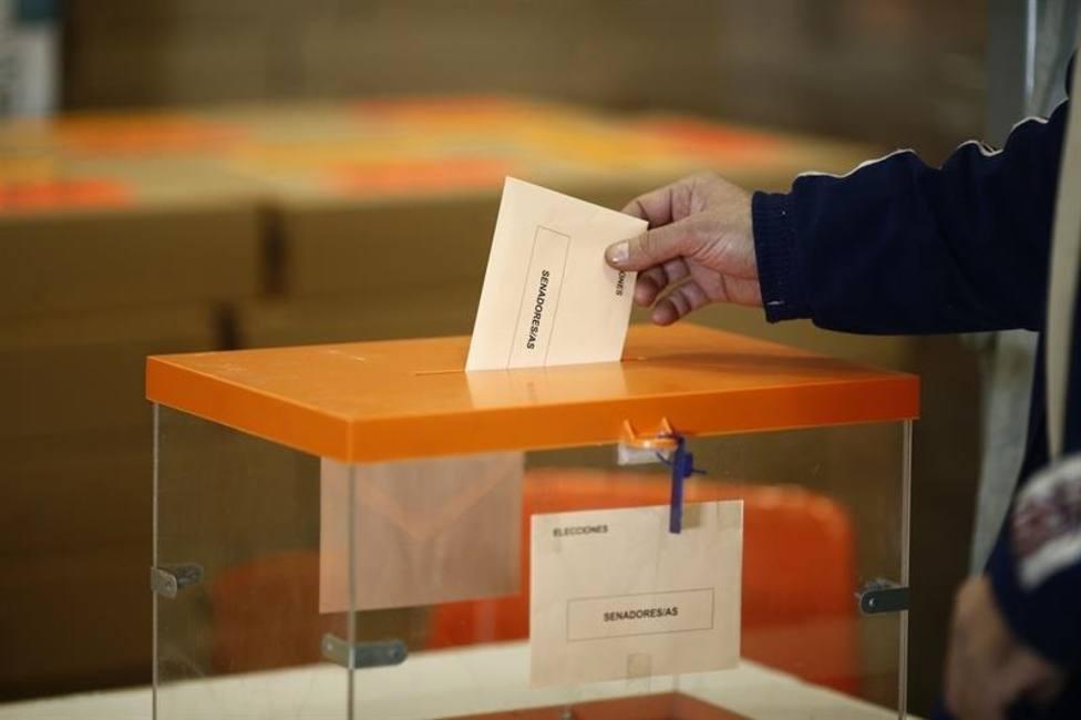 Villarroya cierra sus urnas en tan solo 32 segundos tras votar sus ocho vecinos
