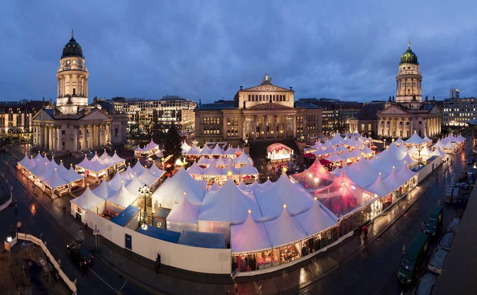 Desalojado un mercado de Navidad de Berlín por el comportamiento sospechoso de dos islamistas