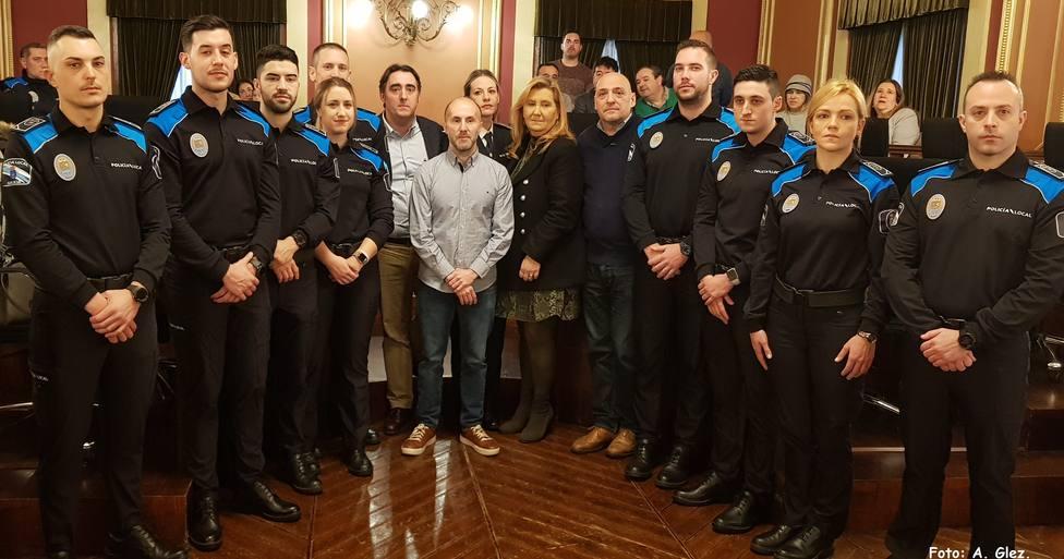 Jácome y nuevos policías