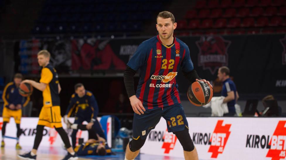 Stauskas abandona el Baskonia de mutuo acuerdo con el club