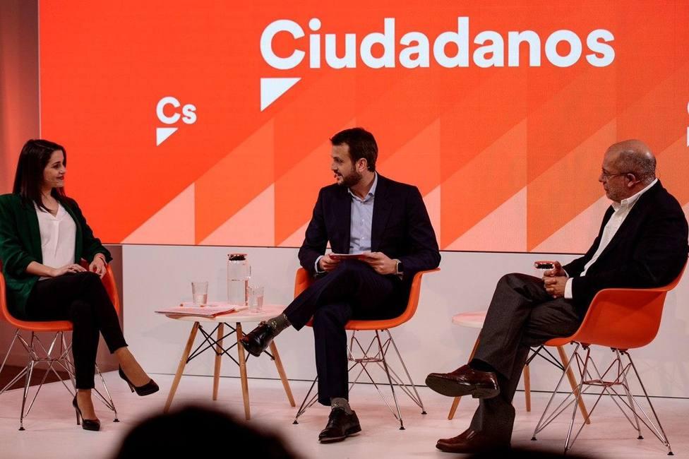 Arrimadas e Igea enfrentan en un debate sus dos formas de entender Ciudadanos