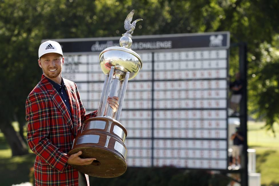 Daniel Berger gala el torneo Charles Schwab Challenge de golf en el Colonial Country Club de Texas