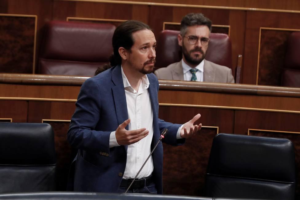 La crítica de Expósito al vicepresidente Pablo Iglesias