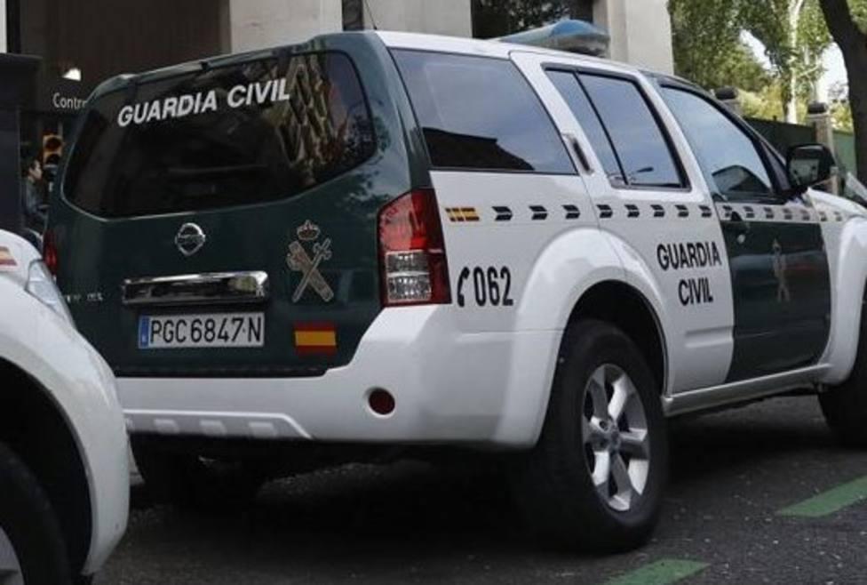 Vehículo de la Guardia Civil (foto recurso)