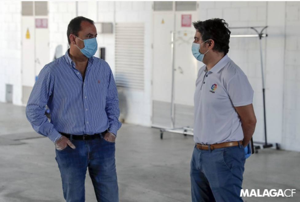 José María Muñoz, a la izquierda, seguirá de administrador judicial.