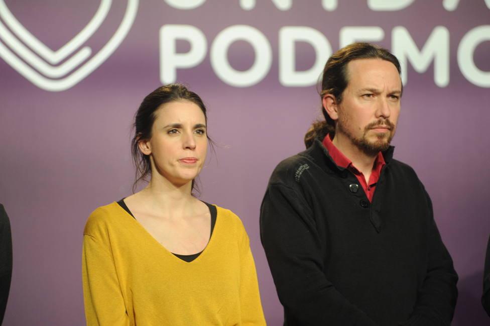 Pablo Iglesias E Irene Montero Vuelven A Subirse El Sueldo Con Podemos En Números Rojos España Cope
