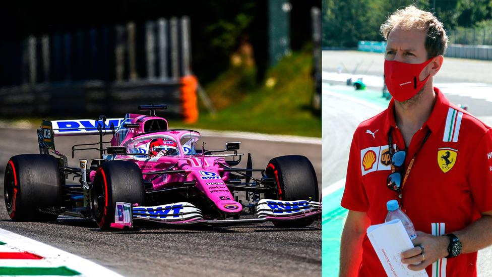 Se abre la puerta de Racing Point para Vettel tras anunciar el 'Checo'  Pérez su salida de la escudería - Fórmula 1 - COPE