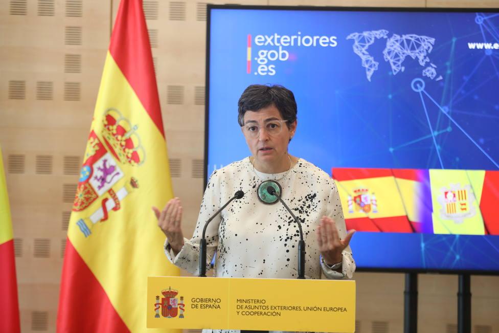 González Laya subraya el compromiso de España con EEUU en materia de seguridad y defensa
