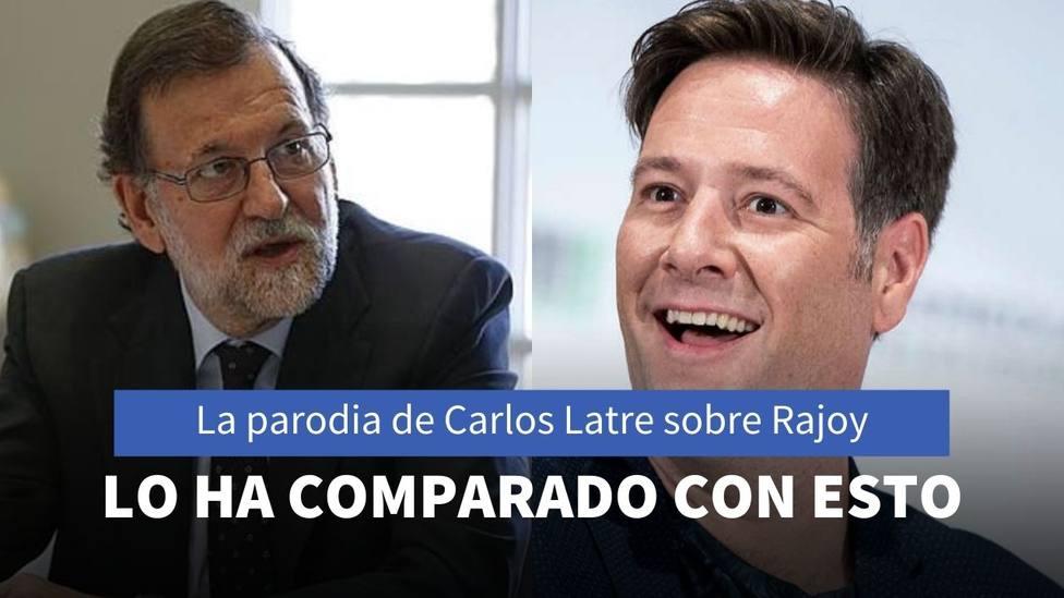 La parodia de Carlos Latre sobre Mariano Rajoy en Masterchef Celebrity