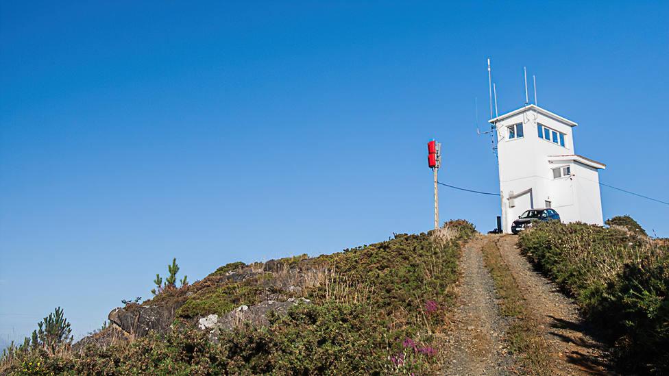 Mirador do Couto Agudo, en Bardaos, San Sadurniño. FOTO: César Galdo