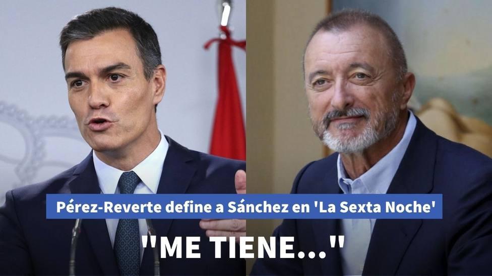 Pérez-Reverte explica sin pelos en la lengua lo que piensa de Pedro Sánchez en La Sexta Noche