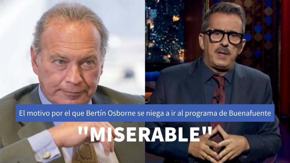 Bertín Osborne y Andreu Buenafuente