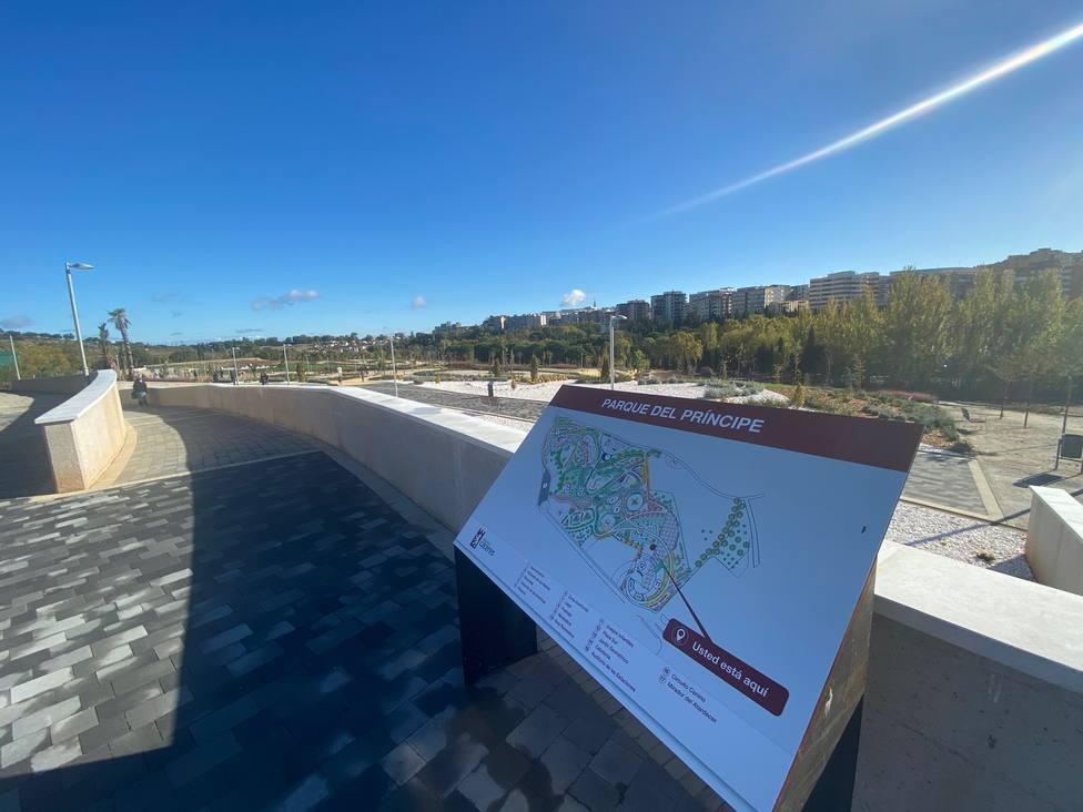 Abre la ampliación del Parque del Príncipe, con 8 hectáreas más