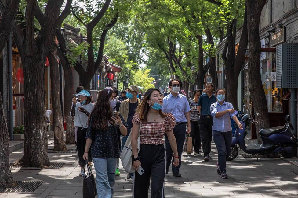 Una española residente en China revela lo que se hace en el país con las mascarillas