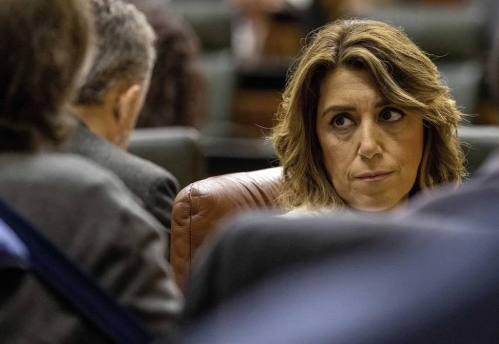 La secretaria general del PSOE-A Susana Díaz