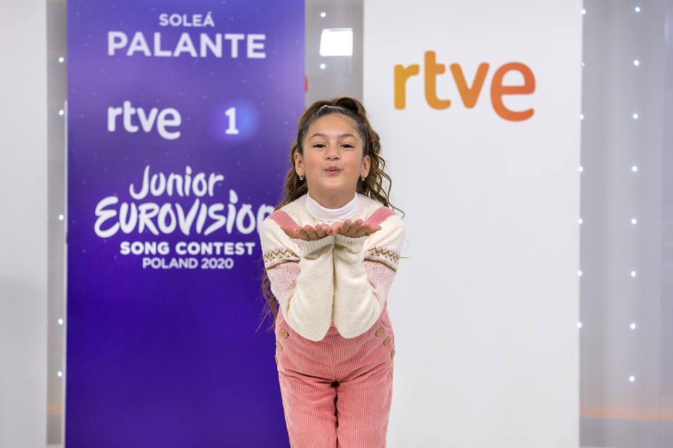 Soleá, la Beyoncé de Triana lista para Eurovisión Junior: Ya me siento la ganadora de mi país