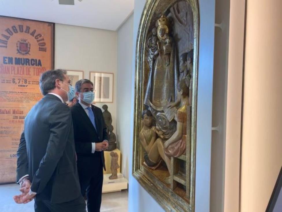 El retablo 'Virgen de la Fuensanta con niños cantores' de Antonio Campillo, nueva pieza del Museo de la Ciudad