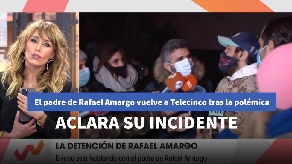 El padre de Rafael Amargo aclara los motivos que le llevaron a protagonizar su altercado con 'Socialité'