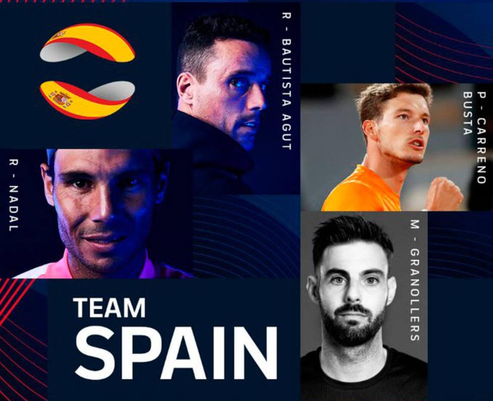 Nadal, Bautista, Carreño y Granollers, equipo español para la ATP Cup