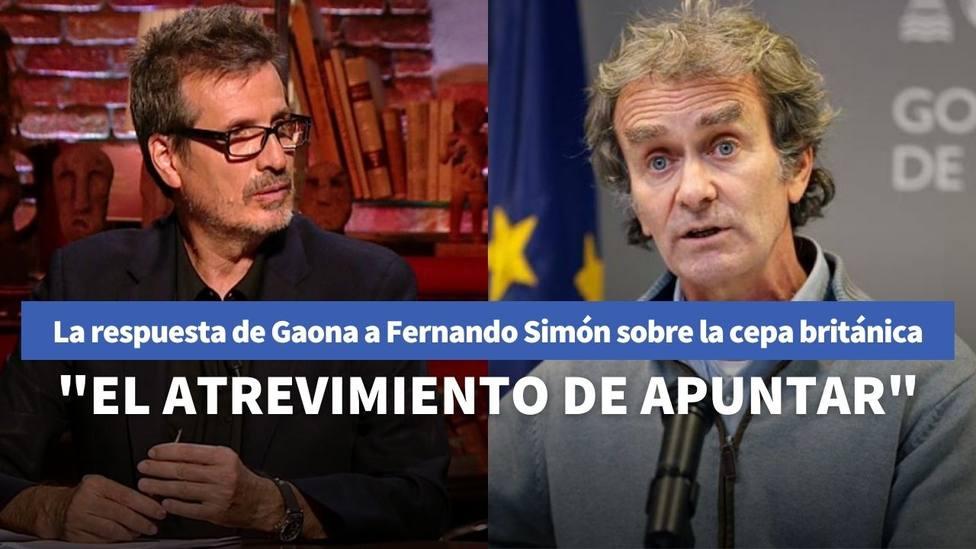 Doctor Gaona y Fernando Simón