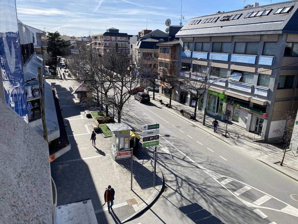 Calle Real de Collado Villalba
