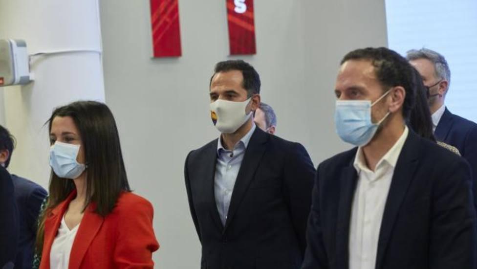 Ignacio Aguado anuncia que Edmundo Bal será el candidato de Ciudadanos a las elecciones del 4M