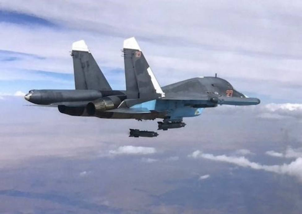 Al menos 200 milicianos muertos en un bombardeo ruso en Siria