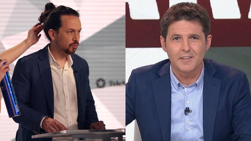 El programa de Cintora señala una mentira de Iglesias durante el debate: hasta dio la fuente