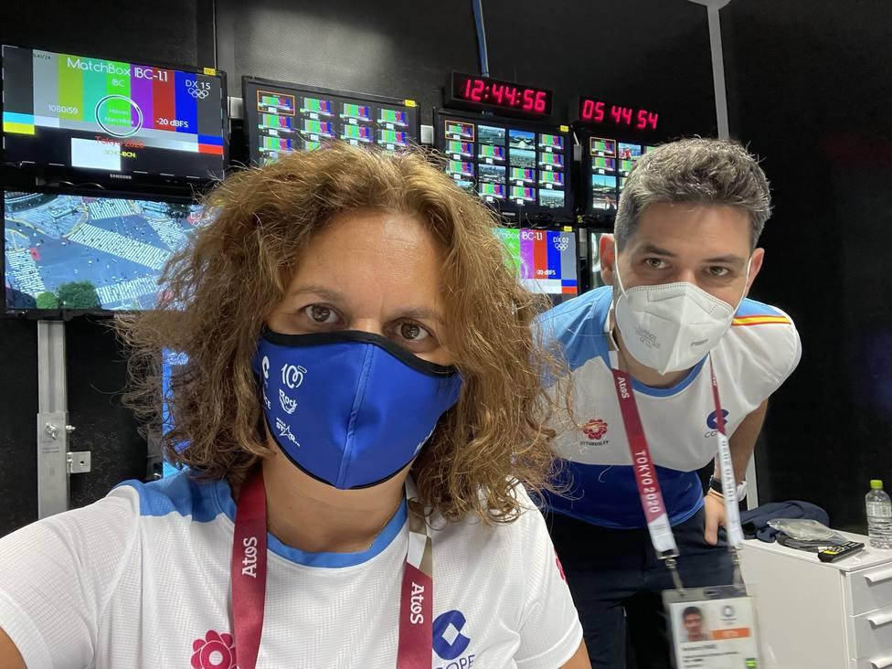 Arancha Rodríguez y Heri Frade