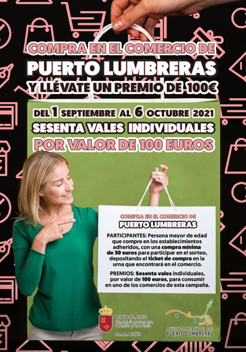 """Vuelve la campaña """"Compra en Puerto Lumbreras y llévate un premio"""""""
